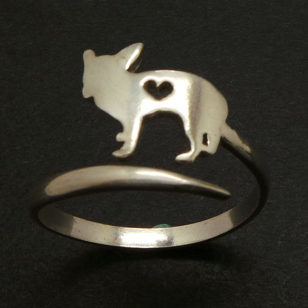 Dog Chihuahua Wrap Ring