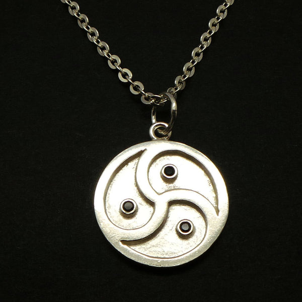 Silver BDSM Symbol Necklace