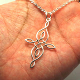 Silver Celtic Knot Necklace Pendant