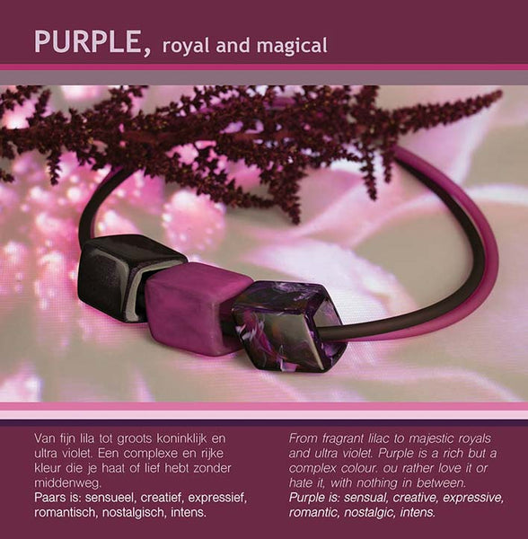 PURPLE, ROYAL AND MAGICAL