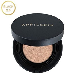 April Skin: Magic Snow Cushion BLACK 2.0 15g (23 Natural Beige)