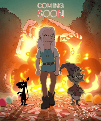 Disenchantment Custom Portrait