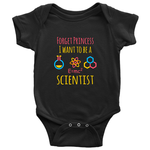 forget princess i want to be a scientist pickgoodies