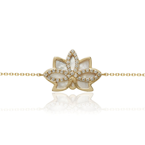 Nelumbo Shell Bracelet