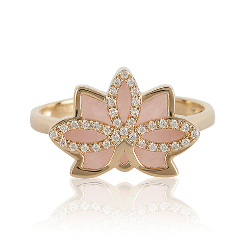 Nelumbo Rose Ring