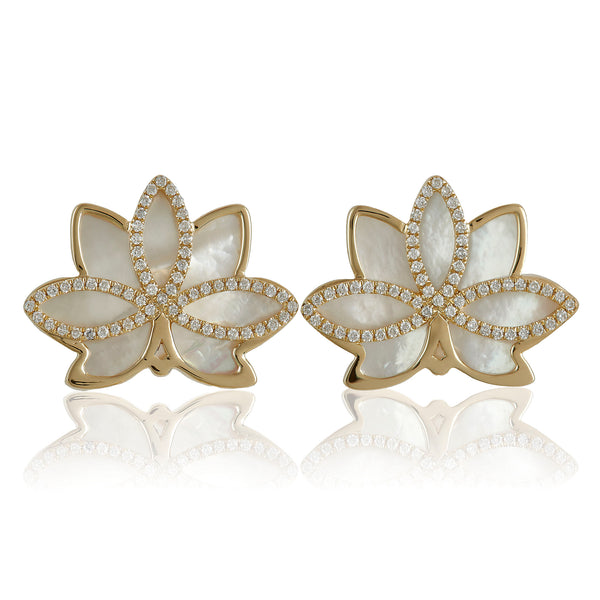 Nelumbo Shell Earrings