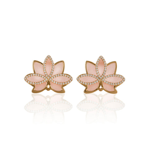 Nelumbo Rose Earrings