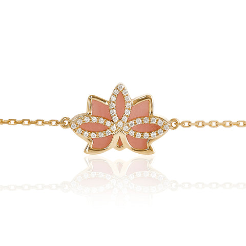 Nelumbo Rose Bracelet