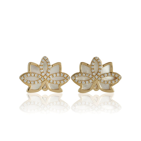 "Nelumbo Shell ""Mini"" Earrings"