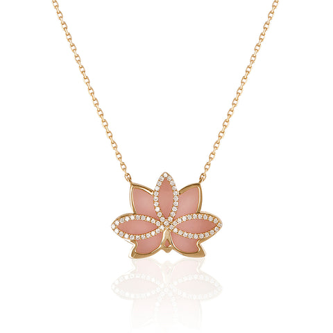 Nelumbo Rose Necklace