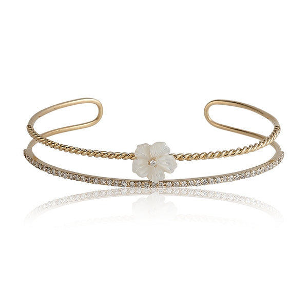 Full Diamond Bangle