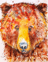 "Original painting ""BEAR with me"" - Marily's Art Nest"