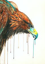"Original painting ""Golden Eagle"" - Marily's Art Nest"