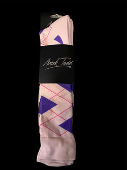 Mark Todd Riding socks Twin Pack Ladie Argyle and Stripe