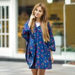 Cherry Poncho - FREE SHIPPING