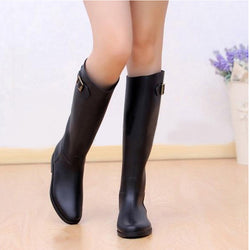 Knee High Rain Boots - FREE SHIPPING