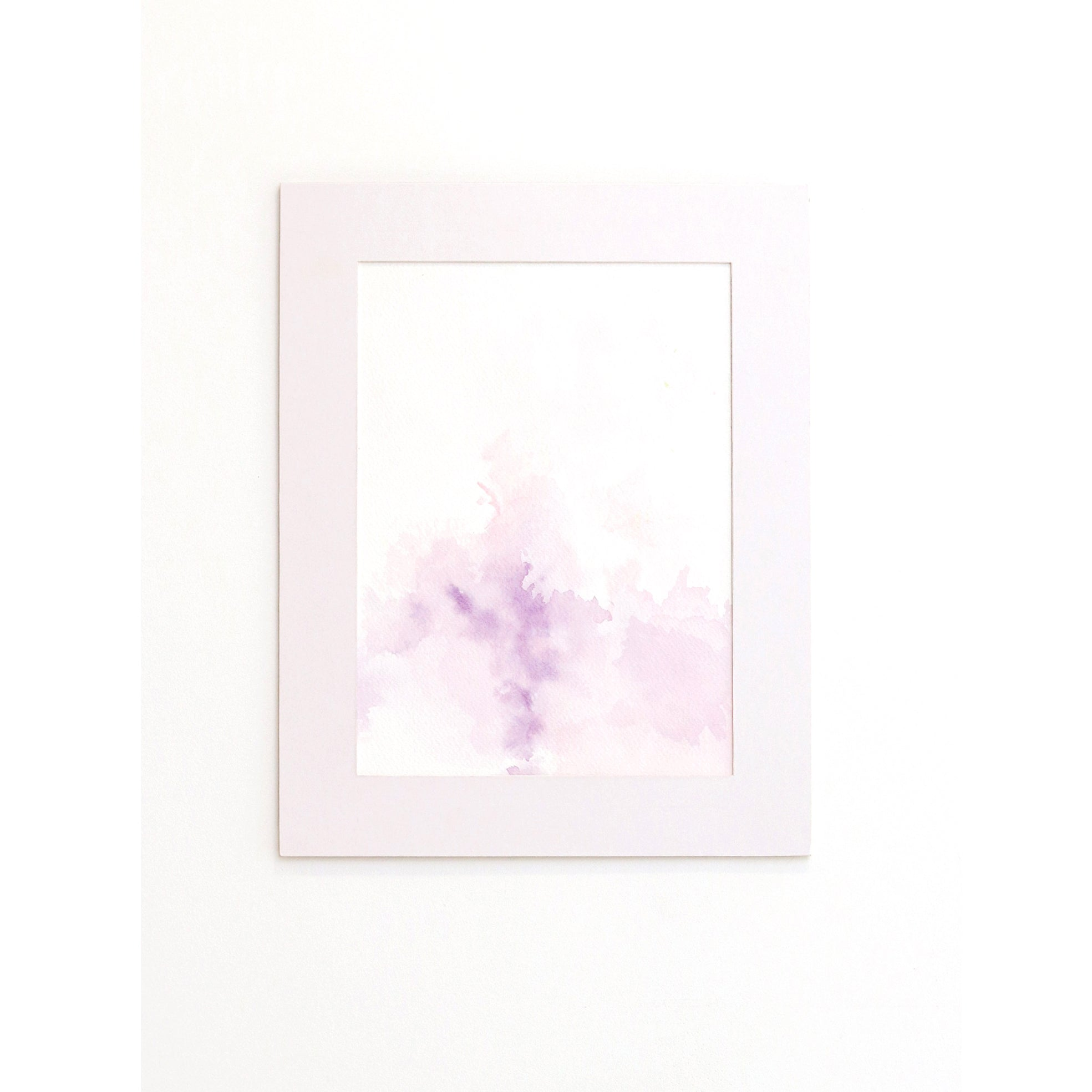 Pink sky angel fancy dress - sky painting print