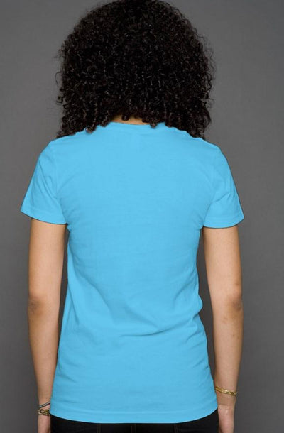 turquoise glam golden retriever pocket tshirt
