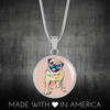 Pug Charm Necklace