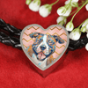 American Staffordshire Terrier Leather Bracelet