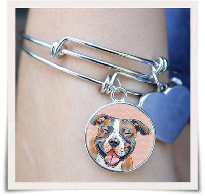 Jewelry - American Staffordshire Terrier Bangle Bracelet