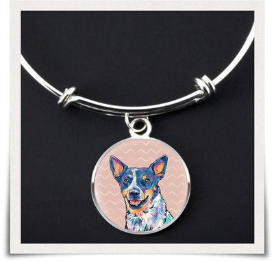 Jewelry - Australian Cattle Dog Bangle Bracelet