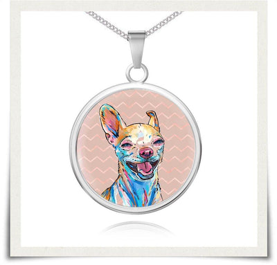 Jewelry - Chihuahua Charm Necklace