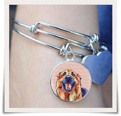 Jewelry - German Shepherd Bangle Bracelet