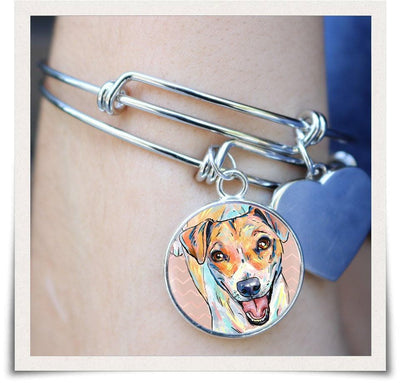 Jewelry - Jack Russell Terrier Bangle Bracelet
