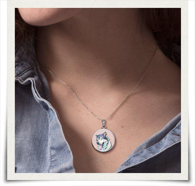 Jewelry - Siberian Husky Charm Necklace