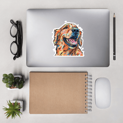 Golden Retriever Sticker Decal for Golden Mama, No Home is Complete Without a Golden, Gift For Dog Lover, Golden Mom, Golden Rescue,