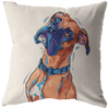 Boxer Dog Pillow Cover Only One Sided Print, No Insert Included, No Home is Complete Without a Boxer,