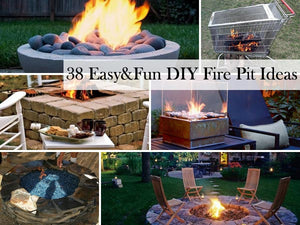 38 EASY & FUN DIY FIRE PIT IDEAS