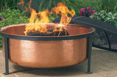 Copper Fire Pit FIRE + PIT