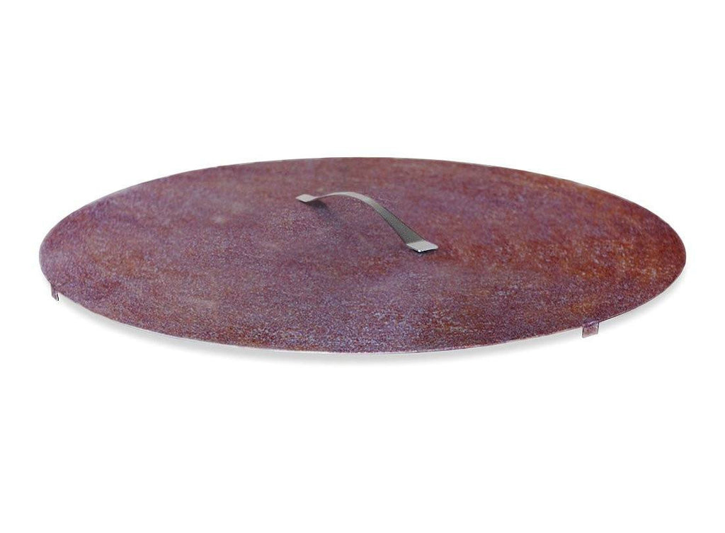 "Curonian Fire Pit Rusting Steel Cover/Lid - 31"" - Fire + Pit"