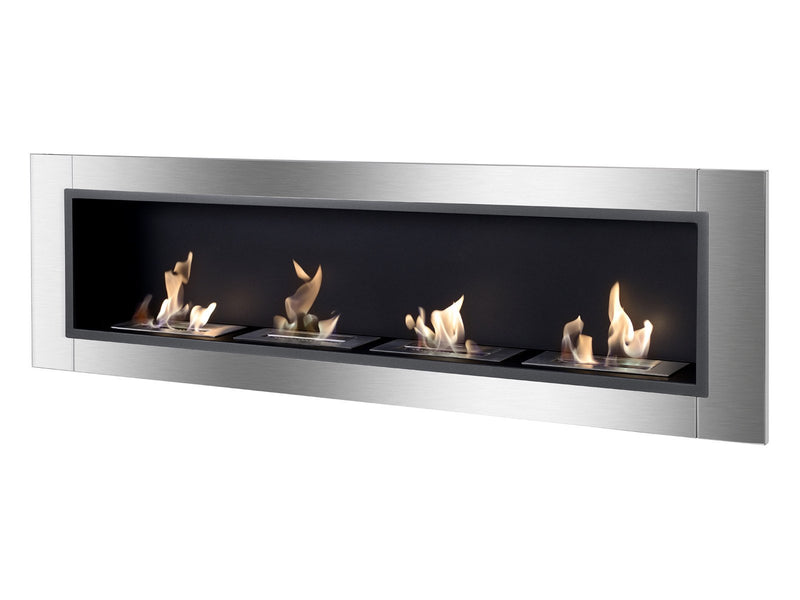Ignis Accalia Wall Mounted / Recessed Ventless Ethanol Fireplace - Fire + Pit
