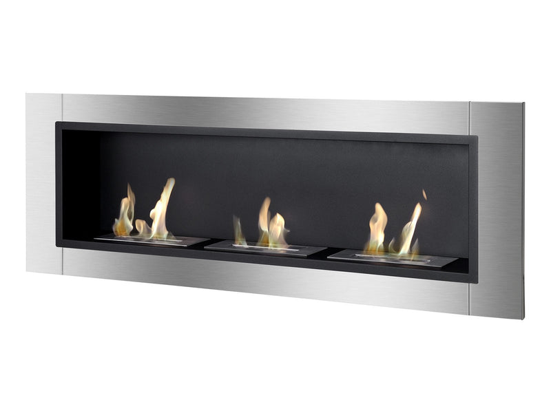 Ignis Ardella Wall Mounted / Recessed Ventless Ethanol Fireplace - Fire + Pit