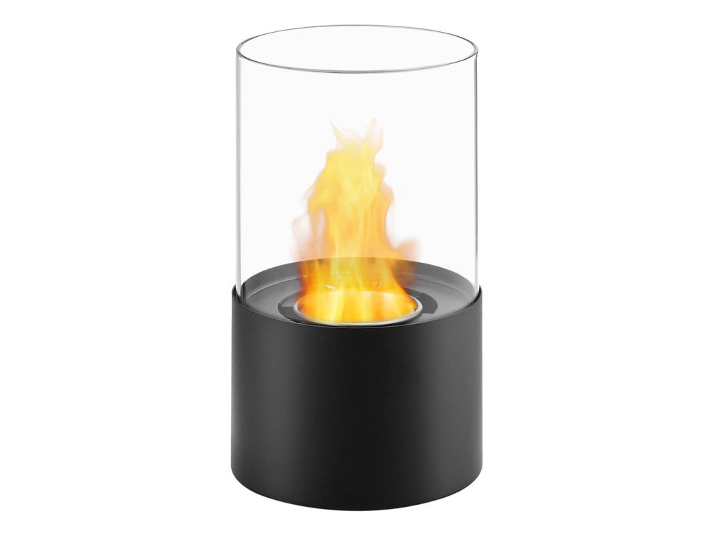 Ignis Circum Black Tabletop Ventless Ethanol Fireplace - Fire + Pit