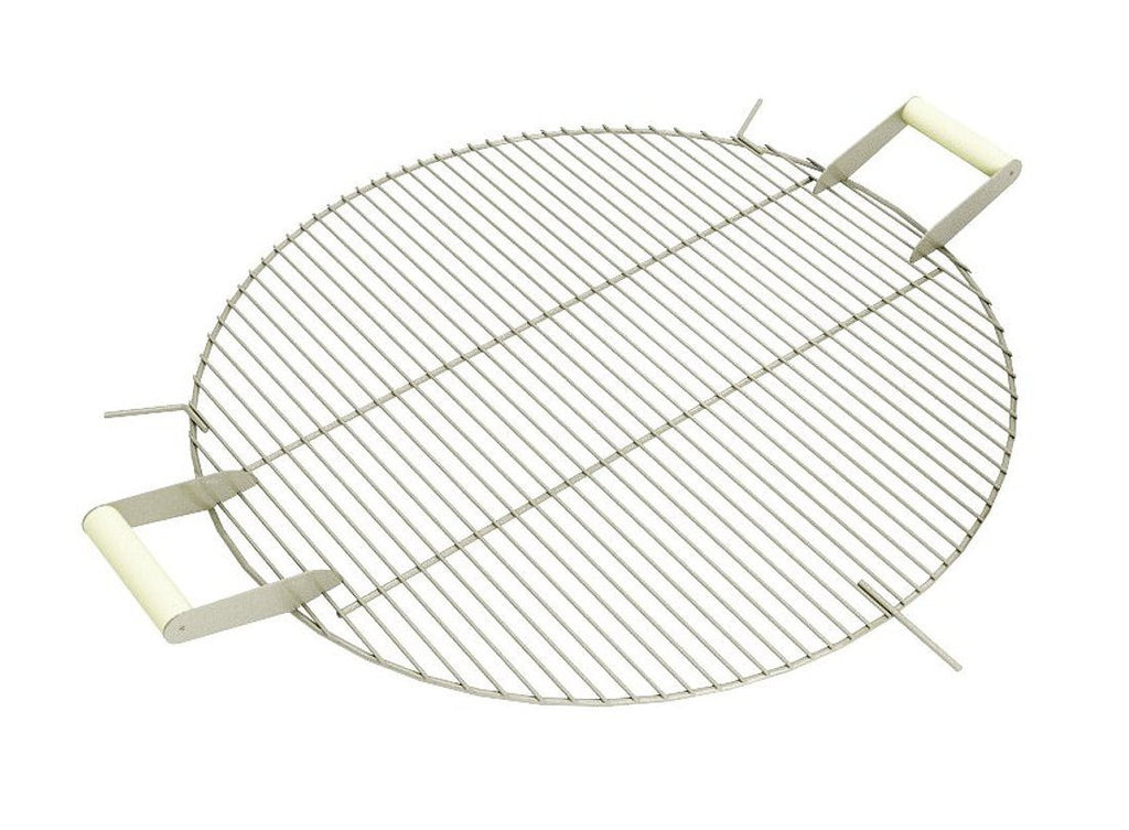 "Curonian Stainless Steel Round Grill Grate - 25"" - Fire + Pit"