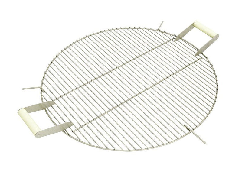 "Curonian Stainless Steel Round Grill Grate - 31"" - Fire + Pit"