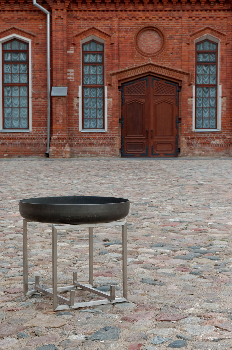 Curonian Solid Steel Wood Burning Fire Pit Nagliai - Fire + Pit