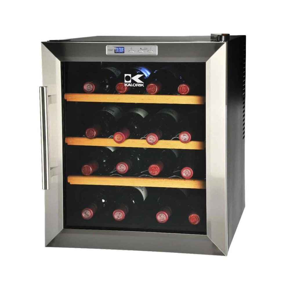 Kalorik 16 Bottle Eco-Friendly Wine Refrigerator - Fire + Pit