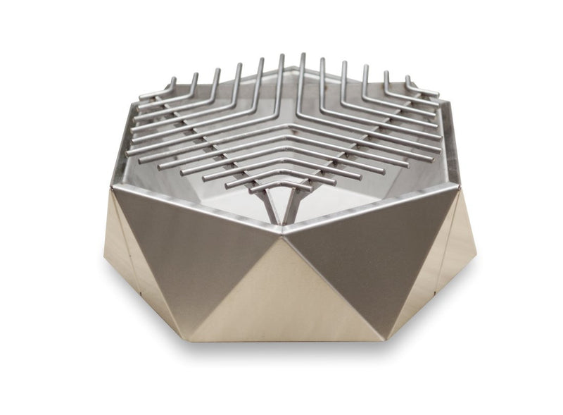 Curonian Stainless Steel Charcoal Tabletop Grill - Fire + Pit