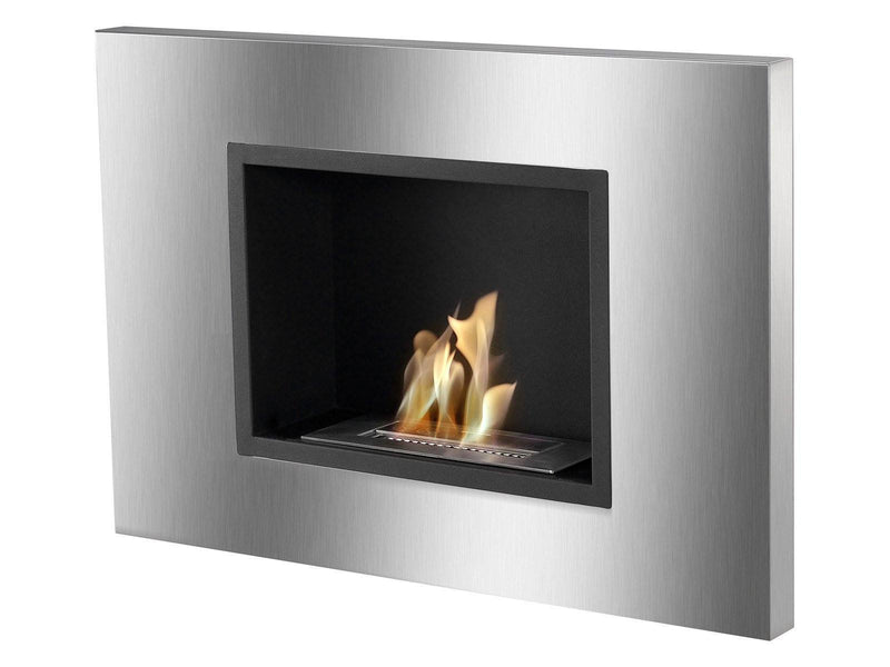 Ignis Quadra Recessed Ventless Ethanol Fireplace - FIRE + PIT
