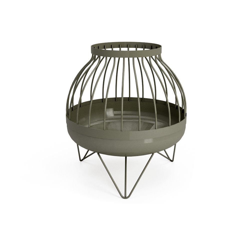 Curonian Solid Steel Wood Burning Fire Pit Nida - Fire + Pit