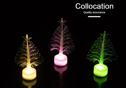 Colorful chameleon Christmas tree set of 5 pieces