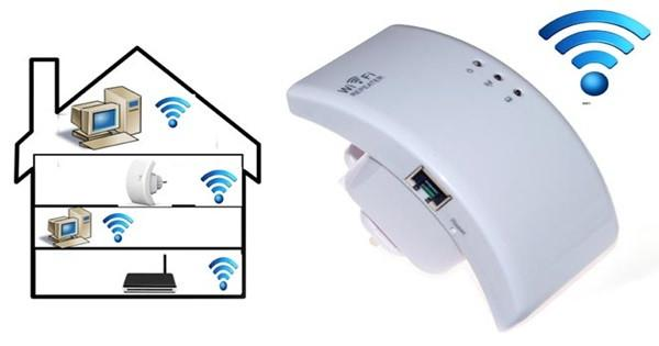 Double WiFi Range Booster -UK Plug