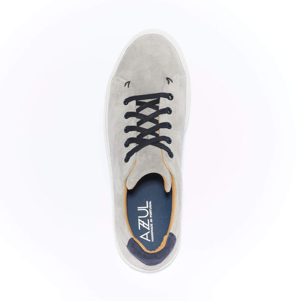 The Braga <br/>Ciment Grey Suede