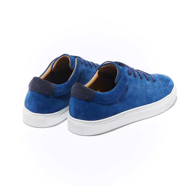The Braga <br/>Indigo Suede