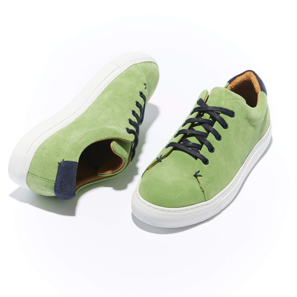 The Braga <br/>Lime Suede